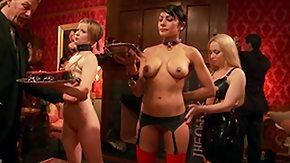 Lesbian Slave, BDSM, Lesbian, Party, Pussy, Slave