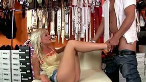 Free Tea Blondie HD porn videos Blond hussy Tea Blond with foot skills very long hot legs gets her drenched minge licked gives sucking off to aroused playmate Tonyon on