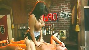 HD Gina Ryder tube Gina Ryder meets Nikko in a biker's club and wins drilled with an audience