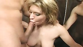 Tyla Wynn, Blonde, Blowjob, Bukkake, Group, Hardcore