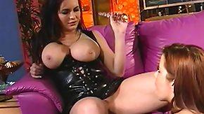 Sarah, Big Tits, Boobs, Brunette, Lesbian, Lick