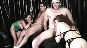 Rod Fontana, Babe, Blowjob, Brunette, Group, Handjob