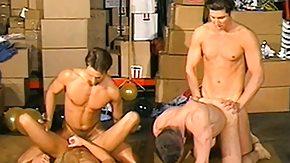 Anal Orgy, Bareback, Gay