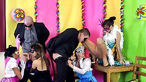Party, Blowjob, Dress, Fetish, Group, Hardcore