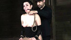Tied, BDSM, Big Tits, Boobs, Bound, Brunette
