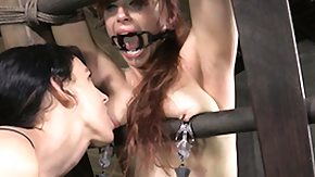 Bella Rossi, BDSM, Bound, Brunette, Fetish, High Definition