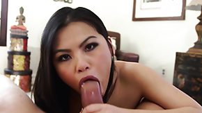 Cindy Starfall, Asian, Big Cock, Blowjob, Brunette, Fucking