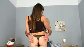 Irina Bruni, Ball Licking, Banging, Bed, Blowjob, Cumshot