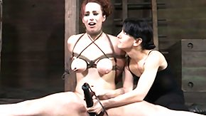 Bella Rossi, BDSM, Bound, Caning, Feet, Fetish