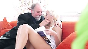 Old Man, 18 19 Teens, Barely Legal, Blonde, Blowjob, Dad and Girl