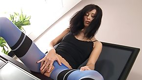Blue Love, Fingering, Fucking, Holiday, Leggings, Masturbation