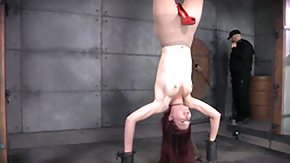 Free Dungeon HD porn upside down hanging in the dungeon