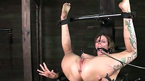 Tied Up, BDSM, Bound, Brunette, Clit, Clitoris