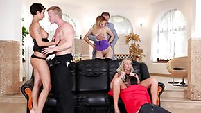German Orgy, Blonde, Blowjob, Brunette, French Orgy, French Swingers
