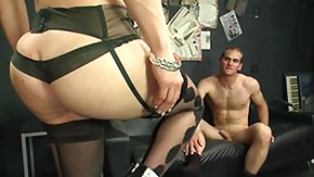 Ladyboy, Blowjob, Domination, Ladyboy, Shemale, Stockings