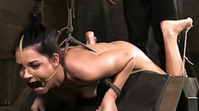Hogtied, BDSM, Brunette, Fetish, High Definition, Hogtied