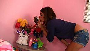 Melanie Rios, Allure, BBW, Bedroom, Blowjob, Boobs