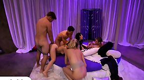 Chick, Blonde, Blowjob, Brunette, Fucking, Group
