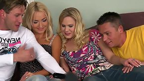 Barra Brass, 3some, Angry, Ball Licking, Banging, Blonde