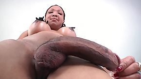 Shemale HD porn tube mindless has an unbelievably huge weenie
