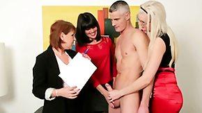 Femdom, Babe, Blonde, Brunette, CFNM, Dominatrix