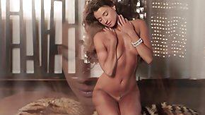Long Video, Ballerina, Brunette, Curvy, Erotic, Fingering