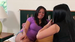 HD Kayia Lynn tube Two young Asians Kayia Lynn Mia Lelani are shy but they can also be kinky when it comes to having some lezbo