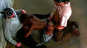 Vintage Orgy, 3some, Antique, Bitch, Black, Black Orgy