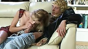 Milf And Teen, Big Tits, Blonde, Blowjob, Boobs, Handjob