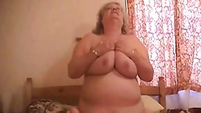 Fat Grannie, Amateur, Banging, BBW, Bend Over, Blonde
