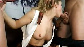 Jessica, 3some, Big Cock, Blonde, Blowjob, Group