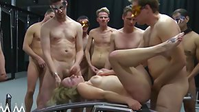 Group, Banging, BDSM, Big Tits, Blonde, Blowjob