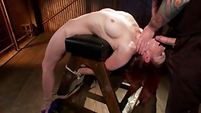 Cage, Babe, Blowjob, Bound, Face Fucked, Fucking