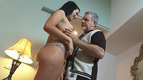 Helpless, Aged, Ass, Boobs, Dad, Dad and Girl