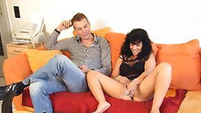 German Mature, Brunette, Dildo, German, German Mature, High Definition