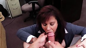 Money, Blowjob, Brunette, Cash, High Definition, Mature