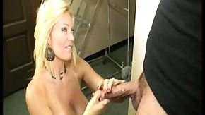 MILF, Big Cock, Big Tits, Blonde, Boobs, Handjob