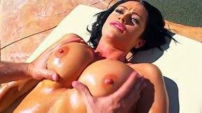 Free Aryana Augustine HD porn videos Aryana Augustine prefers to practice sports outdoors after intense training her coach makes sensitive massage He even reaches her gross boobies Thats so