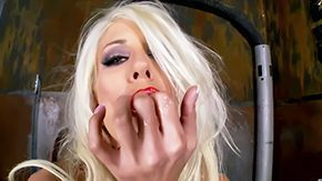 Puma Swede, Babe, Banana, Blonde, Blowjob, Bodystocking