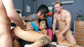 Asian Screwed, 3some, 4some, Adorable, Allure, American