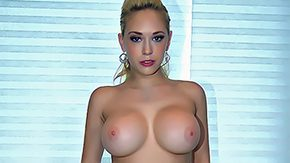 Nikky Blond, Bath, Bathing, Bathroom, Big Tits, Blonde