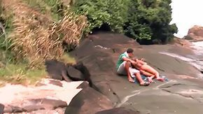 HD Izadora Fantini tube Babe bounded by bikini Izadora Fantini is having her boyfriend Tony Tigrao bounded by innermost on nowhere while laying on big rock where nobody can see