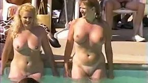 Party, Amateur, Aunt, Beaver, Big Natural Tits, Big Pussy