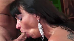 HD Sage Hughes Sex Tube Sexually weird mom Sage Hughes enjoys immersing much younger hard cock by getting it deep inside