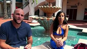 HD Nina Lopez Sex Tube Jmac manages to seduce arousing raunchy with character Nina Lopez over by pool