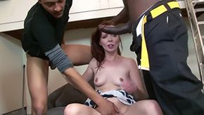 Free Jessie Palmer HD porn Redhead Jessi Palmer gets ravaged by hitting with 3 horny black males