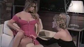 Lesbian Milfs, Aunt, Babe, Blonde, Classy, Dress