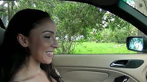 Carly Parker, Babe, Ball Licking, Big Cock, Blowjob, Car