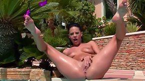 Tanned Masturbation, Amateur, Ass, Banana, Big Ass, Big Pussy