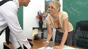 Teachers, Aunt, Big Ass, Big Tits, Blonde, Blowjob